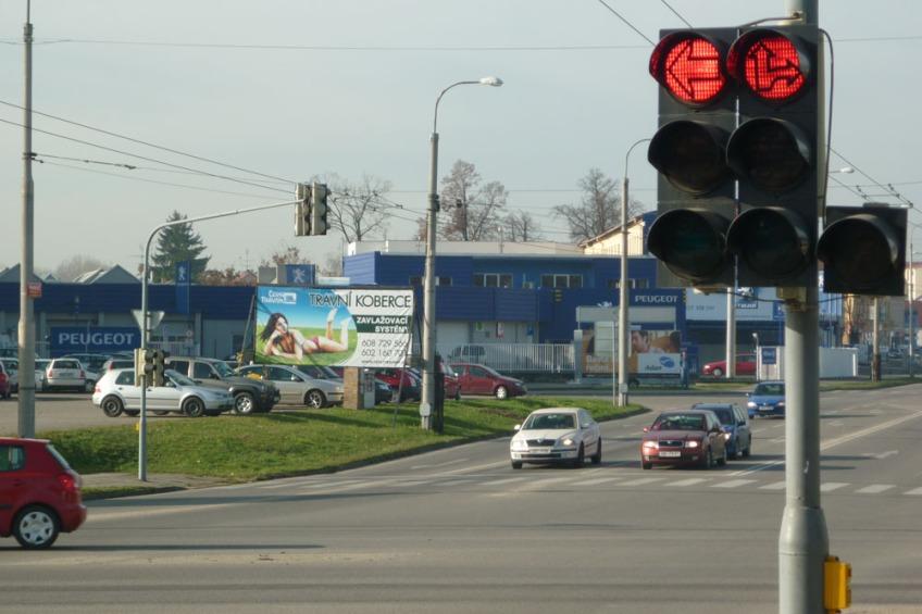 Billboard u výstaviště ČB